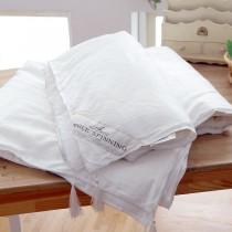 100%頂級雙宮繭桑蠶絲 夏被 手工拉製 天然蠶絲